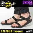 送料無料 ドクターマーチン Dr.Martens バルフォア ゼット ストラップ サンダル ブラックDR.MARTENS BALFOUR Z STRAP SANDAL R21702001レザー 本革 靴メンズ(男性用)兼レディース(女性用)
