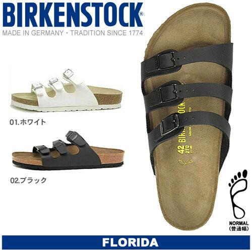 送料無料 ビルケンシュトック ビルケン BIRKENSTOCK フロリダ FLORIDA 全2色 普通幅タイプ メンズ(...
