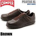 送料無料 カンペール(CAMPER) ぺロータス XL ダークブラウン(CAMPER 18304 025 PELOTAS XL)メンズ(男性用) 靴 シューズ カジュアル スニーカー 天然皮革 ローカット レザー ブラウン