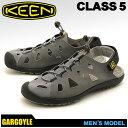 送料無料 キーン(KEEN) クラス 5 CLASS 5 サンダル(KEEN 1012574)メンズ(男性用) アウトドア スポーツサンダル ウォーキング ハイキング シューズ