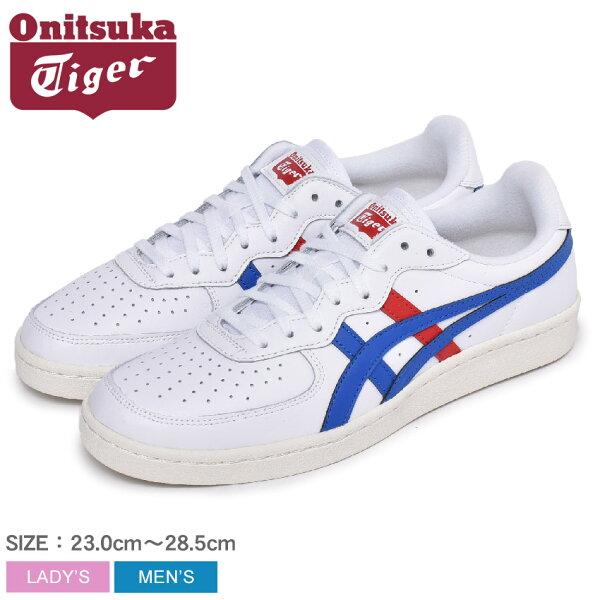 オニツカタイガージーエスエムONITSUKATIGERスニーカーメンズレディースホワイト白GSM1183A651靴シューズ通勤通