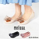 【全品対象★50円引きクーポン】MELISSA メリッサ パンプス MELISSA ULTRAGIRL SWEET 32716 レディース レイン バレエシューズ インヒール パンプス リボン 楽ちん 靴 黒 白 かわいい