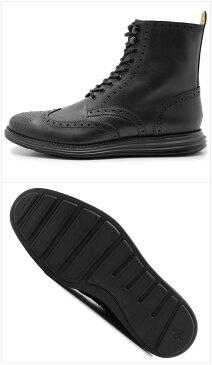 【お年玉企画】 送料無料 コールハーン ナイキ ルナグランド ウィングブーツ 全2色 (COLE HAAN NIKE C13245 C13246 LUNARGRAND WINGBOOT)メンズ(男性用) ブーツ 革靴 レザーシューズ 本革 [2in1]