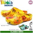 ビルキー (BIRKI'S) (BIRKIS) クラシック ビルキー 全2色 BY ビルケンシュトック ビルケン [普通幅タイプ] (067811 067801 CLASSIC KLASSIK BIRKI BY BIRKENSTOCK) レディース サンダル 花柄