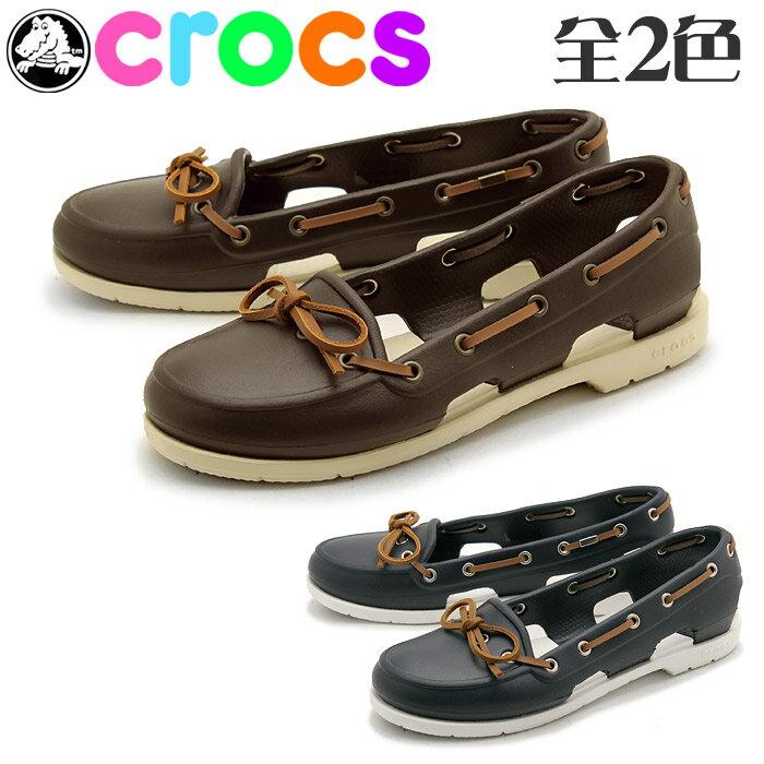 Crocs Beach Line Boat Shoes Womens