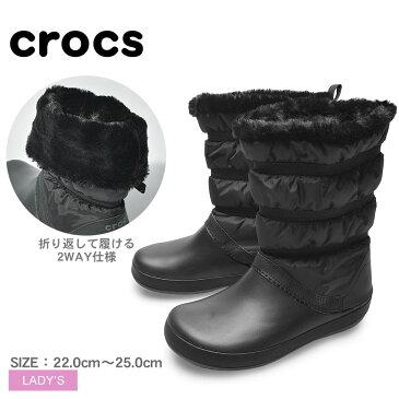 送料無料 CROCS クロックス ブーツ ブラッククロックバンド ウィンター ブーツ シューズ CROCBAND WINTER BOOTS205314 060 レディース スノーブーツ 雪