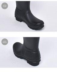 ハンターブーツ(HUNTER・レインブーツ)オリジナルショートサイドバックルブーツ