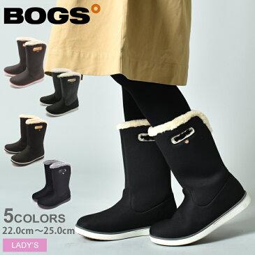 【12月中ずっと!10%OFFクーポン】 送料無料 BOGS ボグス ブーツ 全3色ミッドブーツ ウォータープルーフ MID BOOTS WATERPROOF78408A 001 303 009 レディース スノーブーツ ボア 防水 防滑 保温 靴 黒