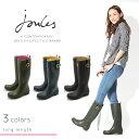 【特別奉仕品】 返品不可 送料無料 ジュールズ JOULES レディース ロング レインブーツ 全3色(joules FIELDWELLY MATT WELLIES)レディース(女性用)ロングブーツ レインシューズ ラバーブーツ 長靴