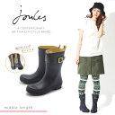 送料無料 ジュールズ JOULES レディース レインブーツ ブラック(joules KELLY WELLY MID HI MATT)レディース(女性用)ブーツ レインシューズ ラバーブーツ 長靴