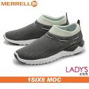 送料無料 メレル MERRELL 1シックス8 モック セドナセージmerrell J01948 1SIX8 MOCアウトドア シューズ 天然皮革 本革レディース(女性用)