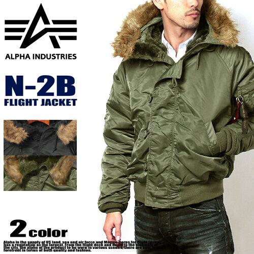 送料無料 ALPHA INDUSTRIES アルファ インダストリーズ N-2B フライト ジャケット MJN30000C1 N-2B...