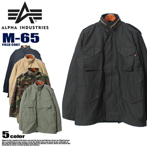送料無料 ALPHA INDUSTRIES アルファ インダストリーズ M-65 フィールド コート MJM24000C1 FIELD ...