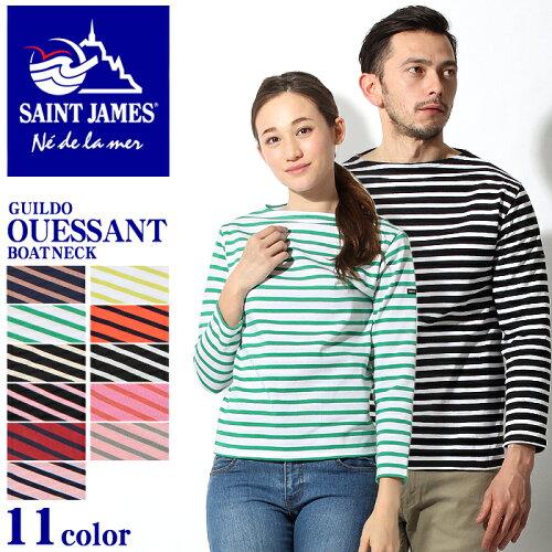 送料無料 [ブランド] セントジェームス SAINT JAMES [アイテム] 長袖Tシャツ [商品名] ウエッソン ...