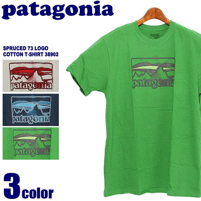 パタゴニア スプルース 73 ロゴ コットン Tシャツ