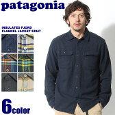 送料無料 PATAGONIA パタゴニア フィヨルド フランネル シャツ 全6色INSULATED FJORD FLANNEL JACKET 53947チェック柄 レギュラーフィット ウェア 長袖 シャツメンズ(男性用)