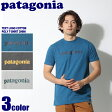 【メール便可】 PATAGONIA パタゴニア カットソー テキスト ロゴ コットン/ポリ Tシャツ ブラック 他全3色 2017年モデルTEXT LOGO COTTON/POLY T-SHIRT 39060 メンズ(男性用)
