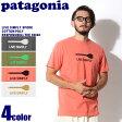 【メール便可】 PATAGONIA パタゴニア ライブ シンプリー スポーク 半袖Tシャツ フォージグレー 他全4色 LIVE SIMPLY SPORK COTTON/POLY RESPONSIBILI-TEE 39046 メンズ コットン ポリ