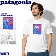 【メール便可】 PATAGONIA パタゴニア キャプリーン デイリー グラフィック Tシャツ ホワイト 2017年モデルCAP DAILY GRAPHIC TEE 45286 VWWT半袖 カットソー トップス アウトドア メンズ(男性用)