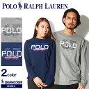 POLO RALPH LAUREN ポロ ラルフローレン Tシャツ グラフィック クルーネックシャツ グレーヘザー 他全2色323-677084 002 001トップス カジュアル ロゴ プリント メンズ レディース