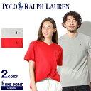 【メール便可】 POLO RALPH LAUREN ポロ ラルフローレン Tシャツ 全2色ワンポイント Vネック 半袖Tシャツ323-515558 005 001 メンズ レディース