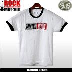 【メール便可】 80's&90's ROCK トーキング・ヘッズ 半袖 Tシャツ ホワイトTALKING HEADS TRUE STORIES TLK-1003プリント Tシャツ クルーネック トップス ウェアメンズ(男性用)
