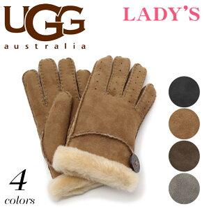 送料無料 アグ オーストラリア 海外 正規品 ベイリー グローブ 全4色 (UGG AUSTRALIA U1602 BAILEY GLOVE)レディース(女性用) 手袋 シープスキン レザー 天然皮革 スエード スウェード 本革 上品
