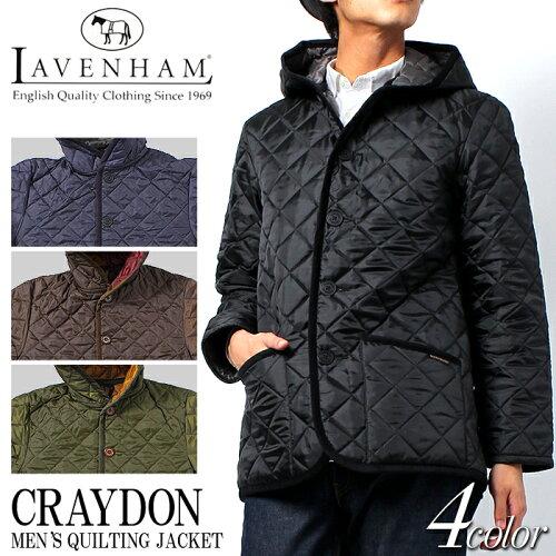 送料無料 ラベンハム クレイドン キルティング ジャケット CRAYDON 全4色 (LAVENHAM QUILTING CRAY...