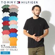 トミーヒルフィガー Tシャツ ベーシック コットン フラッグ インナー