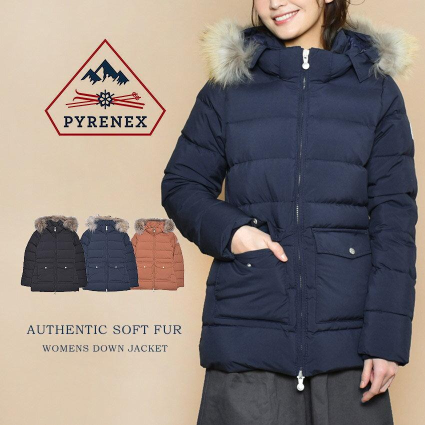 レディースファッション, コート・ジャケット PYRENEX AUTHENTIC SOFT FUR HWM006