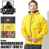 送料無料 X-LARGE XLARGE エクストララージ ボルト ウィンドブレーカージャケット 全3色VOLT WINDBREAKER JACKET JKT M15C5206アウター ブルゾン ジャンバー ライトアウター コート ストリートメンズ(男性用)