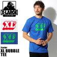 【メール便可】 送料無料 XLARGE X-LARGE エクストララージ M16A1103 XL BUBBLE 半袖 Tシャツ 全2色トップス ウェア カットソー シンプル クルーネック T-SHIRT TEE ロゴメンズ(男性用)