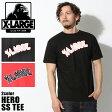 【メール便可】 XLARGE X-LARGE エクストララージ Tシャツ ヒーロー SS TEE ブラック 他全2色M16D1103 HERO SS TEE半袖 トップス プリント ストリート)メンズ(男性用)