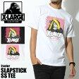 【メール便可】 エクストララージ X-LARGE 半袖Tシャツ SLAPSTICK SS TEE 全2色(X-LARGE M17A1128 BLACK WHITE )メンズ(男性用) エックスラージ トップス ウェア カットソー T-SHIRT