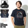 【メール便可】 エクストララージ X-LARGE Tシャツ CENTRAL S/S TEE ブラック 他全3色(X-LARGE M17B1103 BLACK NAVY WHITE )エックスラージ 半袖 トップス ウェア カットソー T-SHIRT 黒 白 青 メンズ