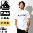 【メール便可】 エクストララージ X-LARGE Tシャツ PURGE S/S TEE ブラック 他全3色(X-LARGE M17B1126 BLACK WHITE YELLOW)エックスラージ 半袖 トップス ウェア カットソー T-SHIRT 黒 白 メンズ [0721m]