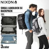 送料無料 NIXON ニクソン リュック スモール ランドロック SE バックパック 16L オールブラック 他全3色NIXON SMALL LANDLOCK SE BACKPACK C2677鞄 バッグ デイパック アウトドアメンズ(男性用) 兼 レディース(女性用)