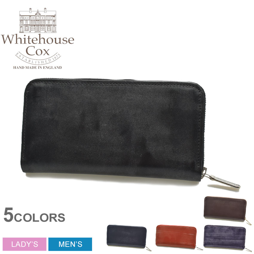 財布・ケース, メンズ財布  WHITEHOUSE COX LARGE ZIP ROUND PURSE S2622