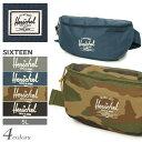 HERSCHEL SUPPLY ハーシェル サプライ ヒップサック シックスティーン 5L 全4色SIX TEEN HIPSACK 10016ウエストポーチ ボディバック バック かばん 鞄メンズ(男性用) 兼 レディース(女性用)