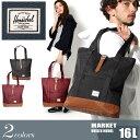 送料無料 HERSCHEL SUPPLY ハーシェル サプライ マーケット 16L 全2色MARKET 10029バッグ 鞄 トートバッグ メンズ(男性用) 兼 レディース(女性用)