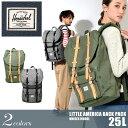 送料無料 HERSCHEL SUPPLY ハーシェル サプライ バックパック リトル アメリカ 25L 全2色LITTLE AMERICA BACKPACK 10014 01371 01372デイパック リュックサック バック かばん 鞄