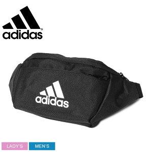 ADIDAS アディダス ウエストバッグ EC ウエストバッグ EC WAIST BAG FN0890 メンズ レディース カジュアル デイリー タウンユース ボディバッグ 収納 仕事 学生 シンプル スポーツ 鞄 黒
