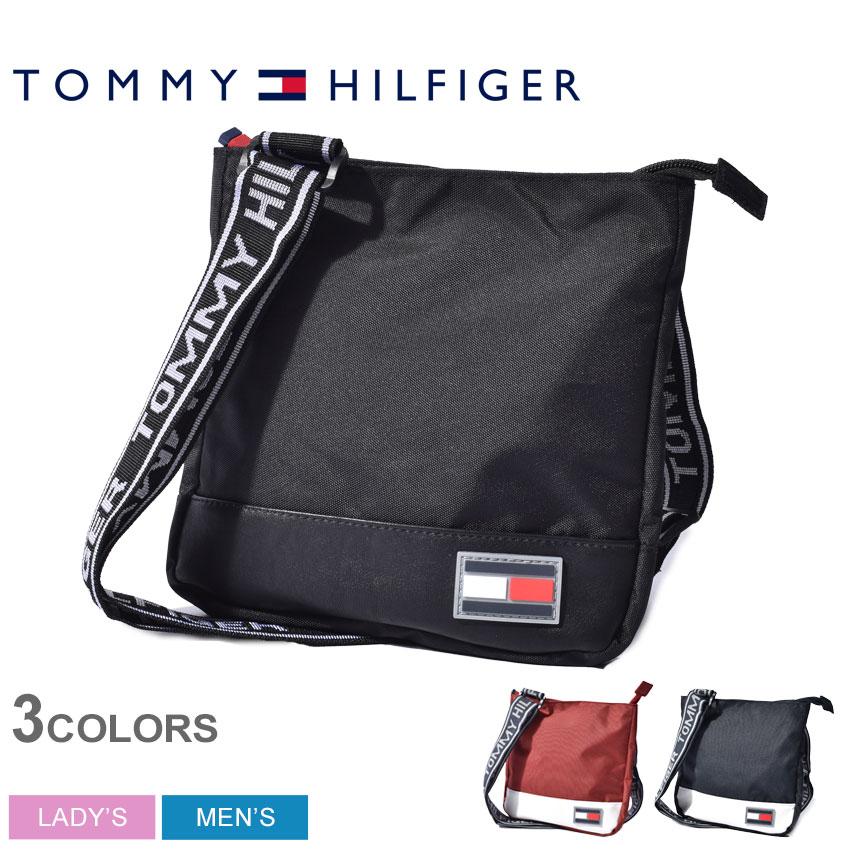 男女兼用バッグ, ショルダーバッグ・メッセンジャーバッグ TOMMY HILFIGER THE SYDNEY CROSS BODY BAG TH-822 TC090SD9
