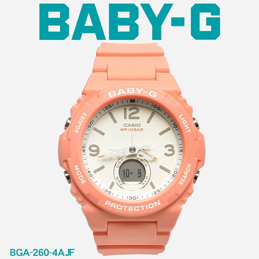 腕時計, レディース腕時計 G-SHOCK BABY-G CASIO BGA-260 SERIES BGA-260 BGA-260-4AJF 1 G