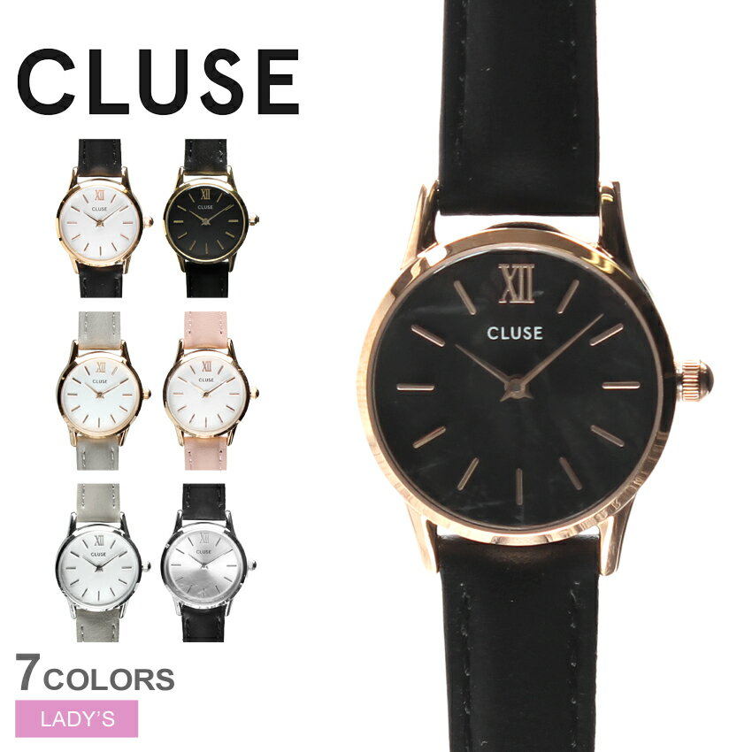 腕時計, レディース腕時計 CLUSE 7 24 LA VEDETTE 24 LEATHERCL50011 CL50012 CL50009 CL50010 CL50008 CL50013 CL50014