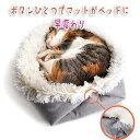 【誰でも割引クーポン配布中】 ペットベッド 猫ベッド マット ベッド ペットハウス クッション付き 丸い...