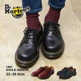 【割引クーポン配布】ドクターマーチン ギブソン 3ホール 1461 Dr.Martens 3EYE GIBSON スリーホールス ムース レザー ワーク シューズ 靴 メンズ 男性 レディース 女性 誕生日プレゼント ギフト おしゃれ