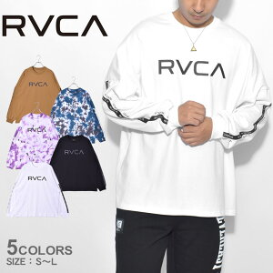 ルーカ Tシャツ 長袖Tシャツ BIG RVCA LT ロングスリーブ RVCA メンズ レディース BB041052 ブラック 黒 ホワイト 白 ベージュ ユニセックス ウエア トップス カットソー ブランド ロゴ シンプル スポーティ スポーツ カジュアル サーフ 誕生日 プレゼント ギフト 父の日
