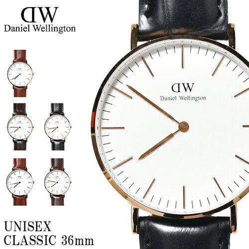 全国送料無料 Daniel Wellington ダニエル ウェリントン 腕時計 クラシック 36mm ...