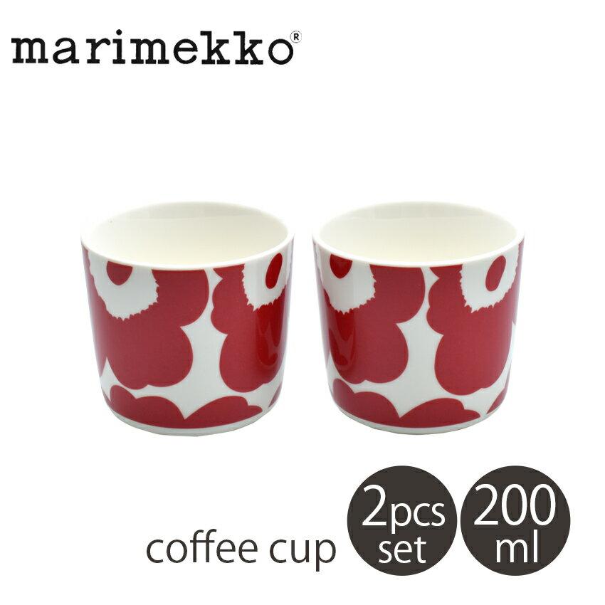 マグカップ・ティーカップ, コーヒーカップ 8181OFF MARIMEKKO COFFEE CUP 2DL 2PCS